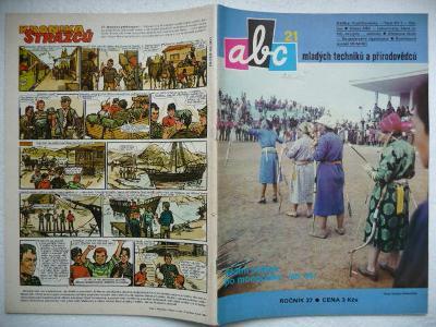 Časopis - ABC - 27.ročník - číslo 21. z roku 1983 - (Vyšlo 8.7.1983)
