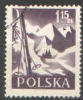 Polsko - Mi 969 - Turistika