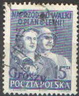 Polsko - Mi 665 - Přetisk grosze
