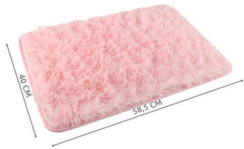 Koupelnová předložka 40x60cm růžová + dárek