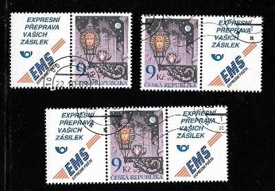 381 Lucerna na Novém světě, kupony, razítko 1.dne vydání (49 Kč)