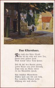 Městský motiv * pumpa, ulice, domy, krajina, báseň * M6920