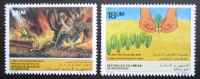 Mauritánie 1985 Boj proti suchu Mi# 842-43 Kat 6€ 1588
