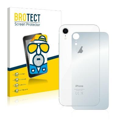 2x Matná ochranná fólie - Apple iPhone XR ZADNÍ