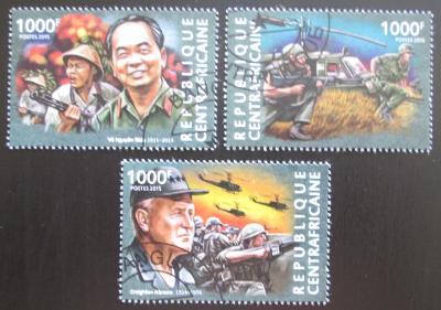 SAR 2015 Vietnamská válka, 40. výročí Mi# 5284-86 Kat 14€ 1590