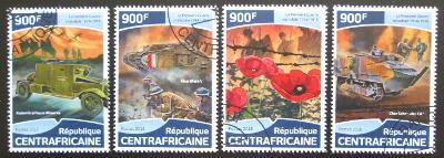 SAR 2018 První světová válka Mi# 7787-90 Kat 16€ 1590