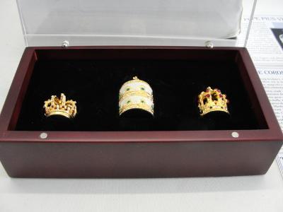 Miniaturní korunovační klenoty
