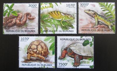 Burundi 2012 Plazi Mi# 2560-64 Kat 10€ 1592