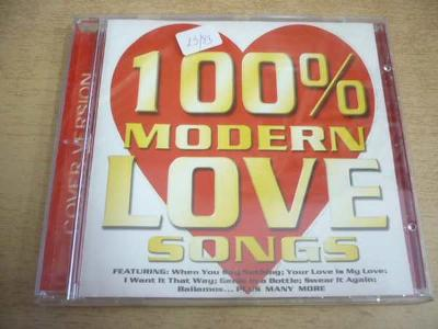 CD 100% Modern Love Songs