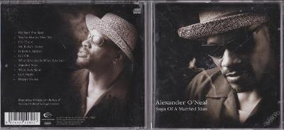 ALEXANDER O´NEAL - SAGA OF A MARRIED MAN 2002 NOVÉ
