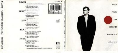 BRYAN FERRY - THE ULTIMATE COLLECTION (1988) SUPER