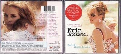 ERIN BROCKOVICH - SOUNDTRACK (2000) NOVÉ !!