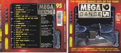 MEGA DANCE 95 - GREATEST DANCE HITS .. výprodej