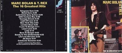 MARC BOLAN a T. REX - THE 16 GREATEST HITS ( TOP ) akce