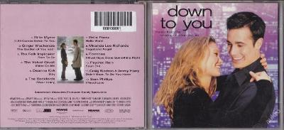 OST - DOWN TO YOU (2000) TOP STAV akce sleva