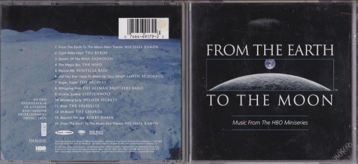OST - FROM THE EARTH TO THE MOON (1998) TOP akce - Hudba