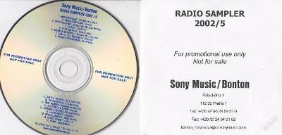 PROMO RADIO - SAMPLER 2002/5 Sony Music/Bonton RRR