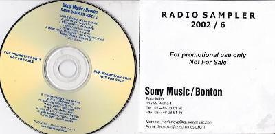 PROMO RADIO - SAMPLER 2002/6 Sony Music/Bonton RRR