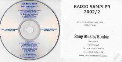 PROMO RADIO - SAMPLER 2002/2 Sony Music/Bonton RRR