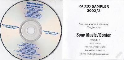 PROMO RADIO - SAMPLER 2002/3 Sony Music/Bonton RRR