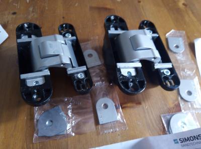 2x Tectus 311 3D FVZ - SKRYTÝ PANT - skrytá zárubeň 40mm.