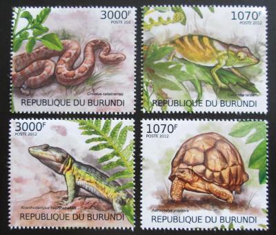 Burundi 2012 Plazi Mi# 2560-63 Kat 10€ 1599