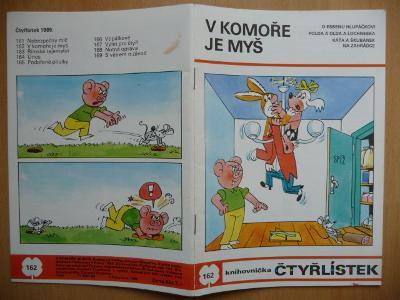 ČTYŘLÍSTEK - číslo 162. - V komoře je myš