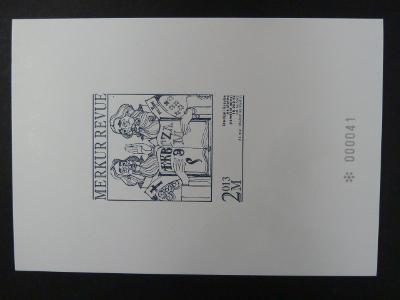 příl. tisk Merkur Revue 2013 - V.Pavlica - 10.000 Kč 2013 - číslovaný