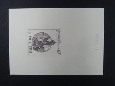 příl. tisk Merkur Revue 2004 - Mucha - číslovaný