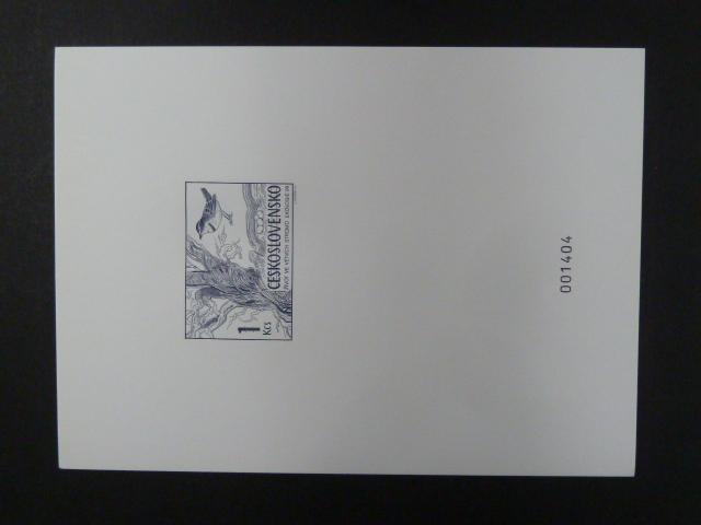 příl. tisk Merkur Revue 1999 - Ekologie - číslovaný - Filatelie