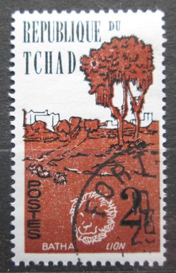 Čad 1962 Batha a lev Mi# 71 0974 - Filatelie
