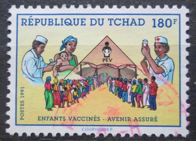 Čad 1991 Preventivní očkování Mi# 1199 0974