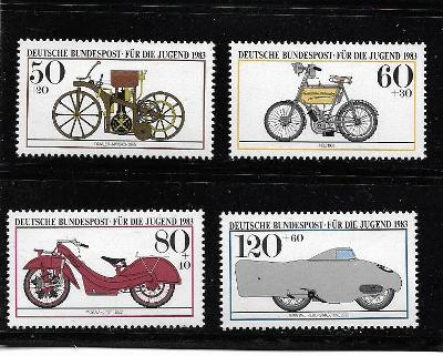 BRD 1168-71 Historické motocykly 1983 ** svěží