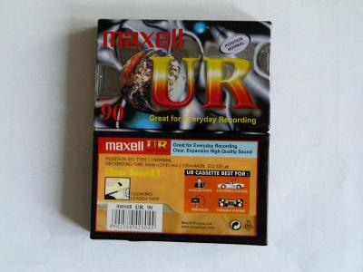 kazeta Maxell UR, typ I, 2002-05