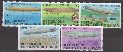 Kongo  vzducholodě