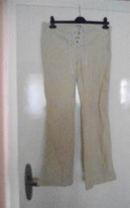 béžové manšestráky kalhoty Timeout 36