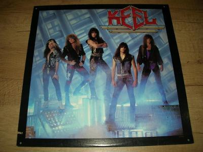 Keel – Keel (1987) USA 1.Press , TOP STAV!!!