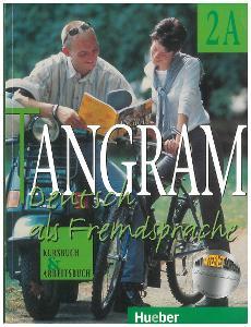 Tangram 2A, Kursbuch + Arbeitsbuch v jednom