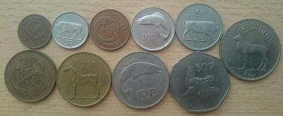 Irsko 10 mincí z oběhu