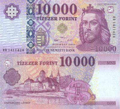 MADARSKO 10000 Forint 2019 P-206c UNC