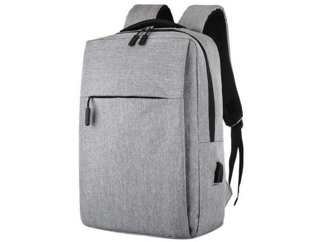 Batoh s USB konektorem + darek - Tašky, batohy, kufry
