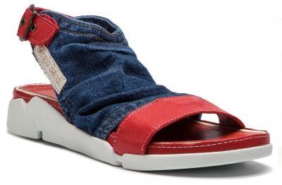 Džínové sandály, SERGIO BARDI vel.38. nové