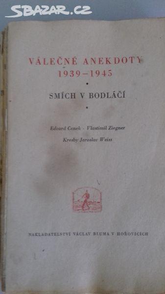Válečné anekdoty - 1939 - 1945 Smrt v bodláčí - antikvariát