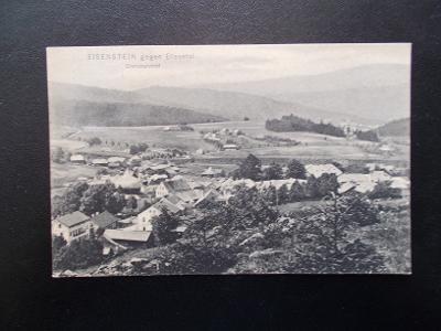 Šumava Klatovy Železná Ruda Eisenstein hranice nádraží Bavorsko