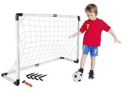Fotbalová branka s míčkem 116 x 79 x 38 cm + dárek