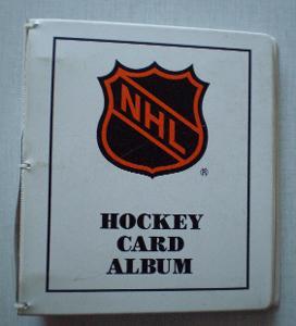 NHL HOCKEY CARD ALBUM ENOR
