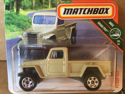 MATCHBOX 34/35 Willys Jeep Pickup 4x4