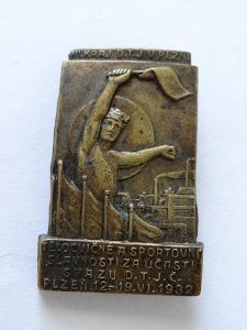 1932 - PLZEŇ - TĚLOCVIČNÉ SLAVNOSTI.