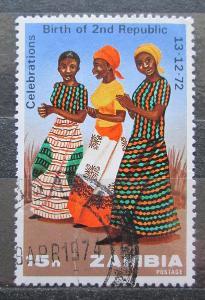 Zambie 1973 Tanečnice Mi# 118 1005