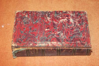 STAROŽITNÁ NĚMECKÁ KNIHA ROK 1863